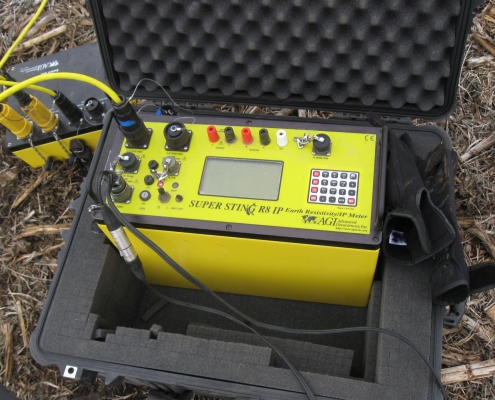 GEophysics equipment