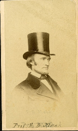 Vintage photo of Meek in a top hat