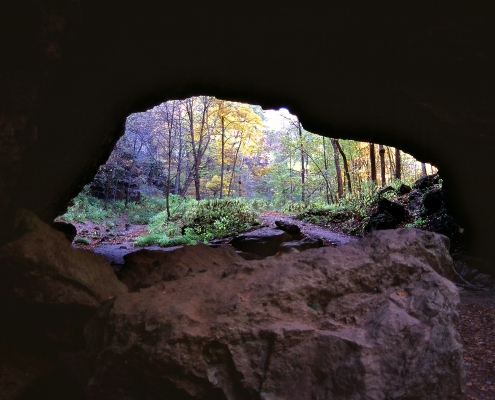 Maquoketa Caves DNR photo by Michael McKenzie