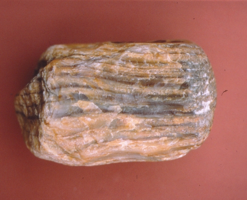 Pale pink and gray rock