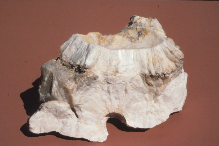 White and beige rock